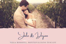 Destination Wedding Montepulciano