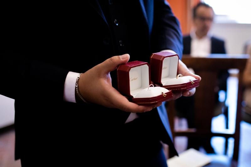 Wedding rings for a civil wedding in Montepulciano - wedding planner Siena