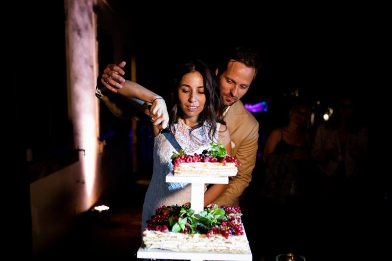 Millefoglie wedding cake - wedding planner siena