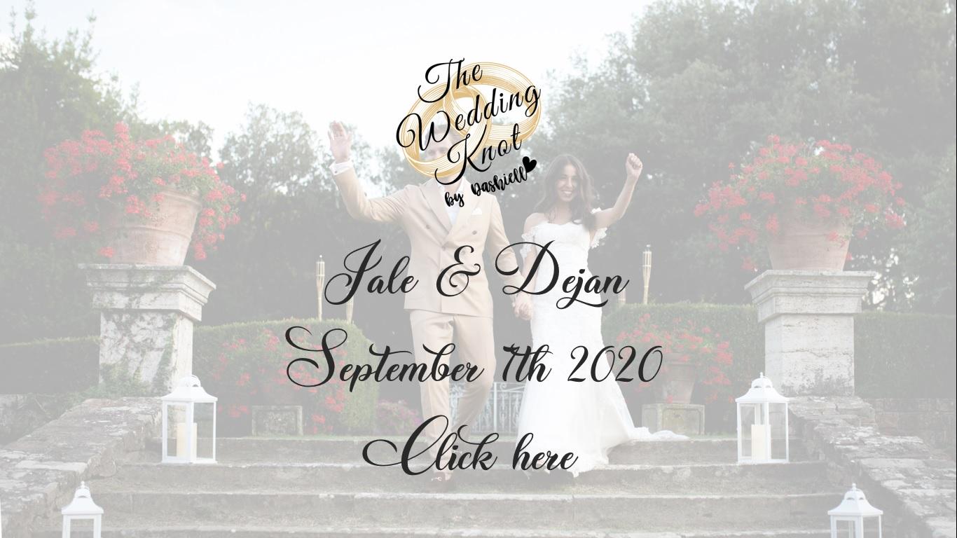 Jale and Dejan – Destination wedding in Montepulciano