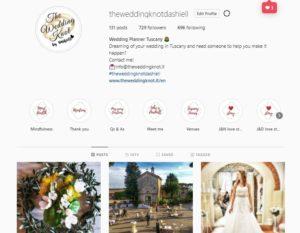THE WEDDING KNOT DASHIELL - WEDDING PLANNER TUSCANY