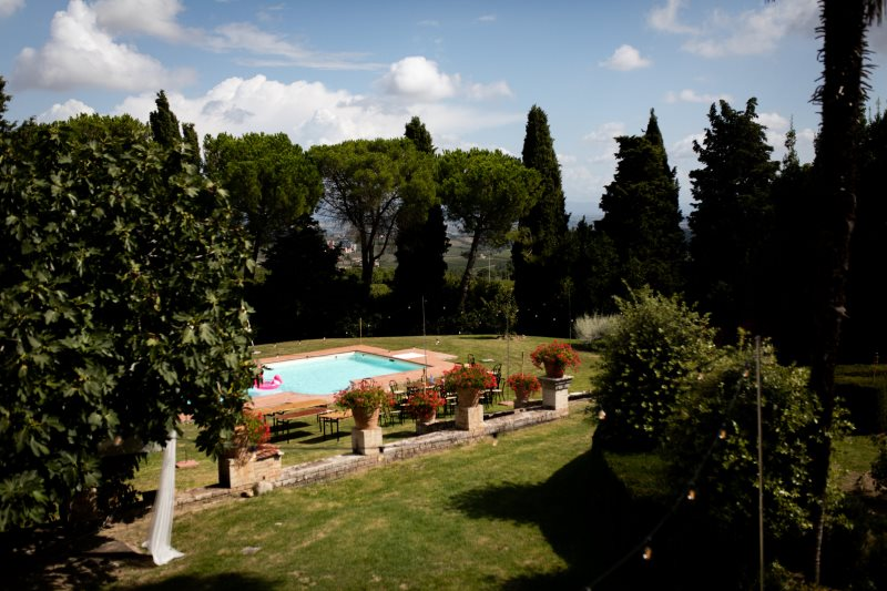 Wedding villa with pool for 20 guests in Montepulciano - wedding planner siena