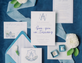 Destination wedding stationery - wedding planner tuscany
