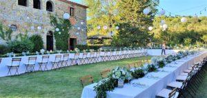 wedding venue tuscany - villa
