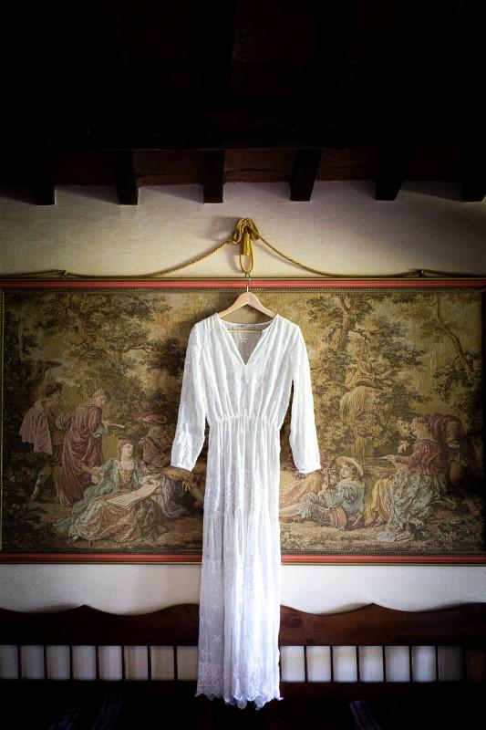 Affordable boho wedding dress - wedding planner siena