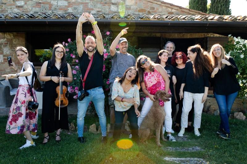 A team behind a successful wedding - wedding planner Siena