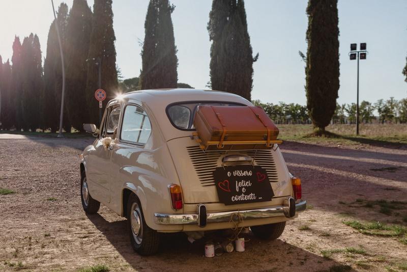 Wedding vintage FIAT 600