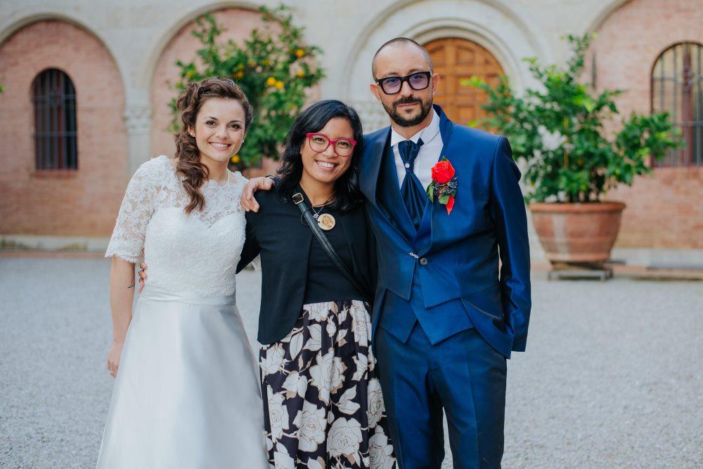 Filipino Wedding planner in Siena Tuscany Italy